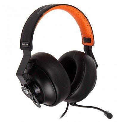 Headset Gamer Cougar Phontum 3H500P53B Preto/Laranja