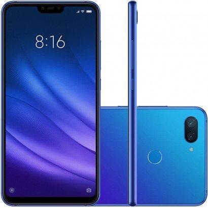 Smartphone Xiaomi MI 8 Lite 64GB Versão Global Desbloqueado Azul